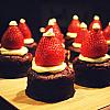Jordbær julekager