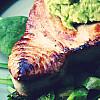 Tun med Avocado-Wasabi creme