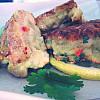 Grove fiskedeller med wasabi