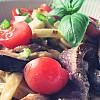 Pasta med oksefilet II