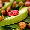 Salat med Bagte Rabarber