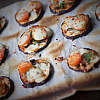 Aubergine Mini-pizza