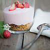 Jordbær Cheesecake-mousse