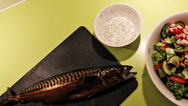 Røget makrel