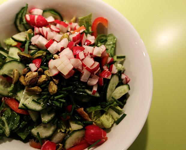 Makrelsalat - en grøn en af slagsen