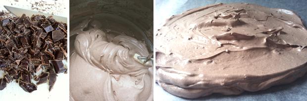 Chokolade Pavlova