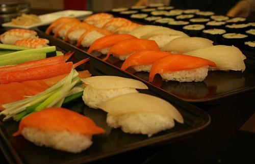 Sushi - homemade style