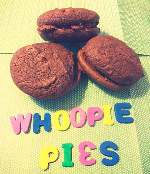 Chokolade Whoopie Pies
