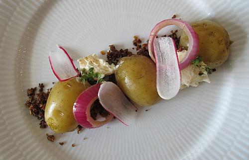 Ambitiøs kartoffelmad