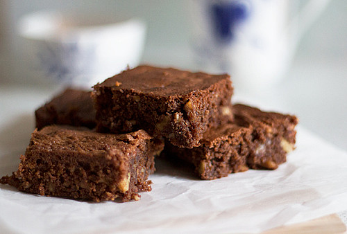 Ekstra nøddeagtig Brownie (glutenfri)