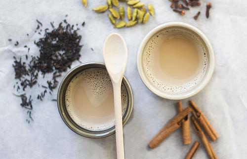 Chai tea - fra bunden