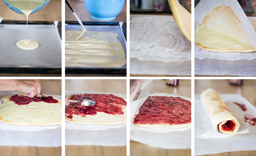 Nem Roulade - step by step